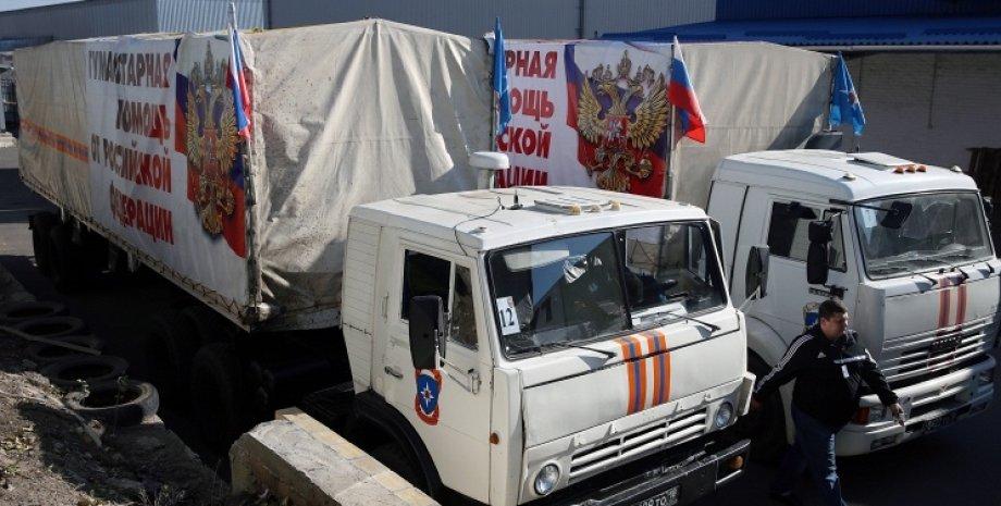 Российский гумконвой / Фото: Михаил Почуев, ТАСС