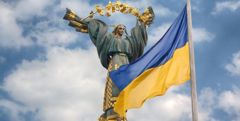 Флаг Украины, День независимости Украины