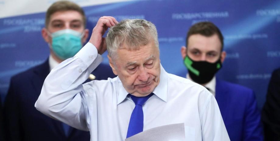 Владимир Жириновский, лидер ЛДПР Владимир Жириновский
