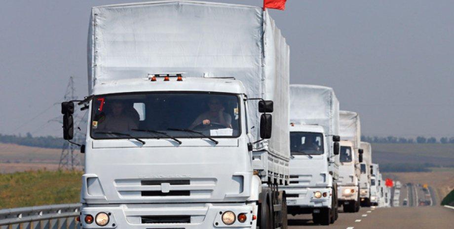 Гуманитарный конвой МЧС РФ / Фото: Reuters