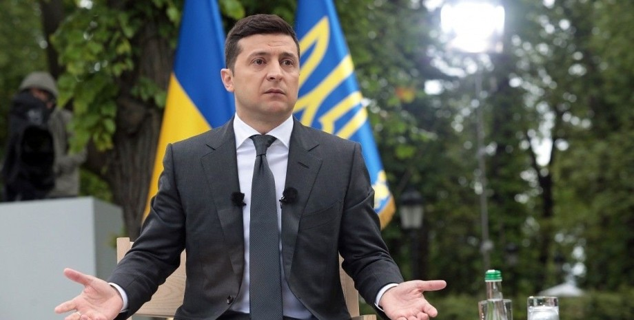 Владимир Зеленский разводит руками