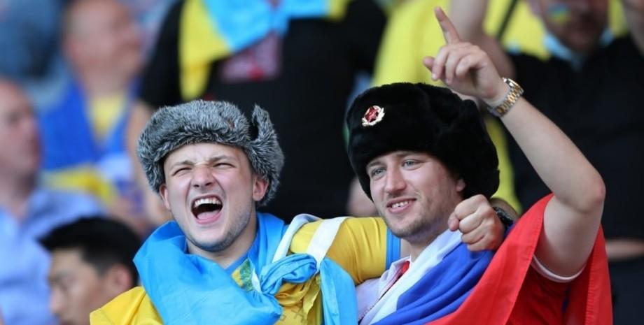 Украина-Швеция, фанат, провокация,