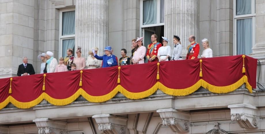 Королевская семья, букингемский дворец