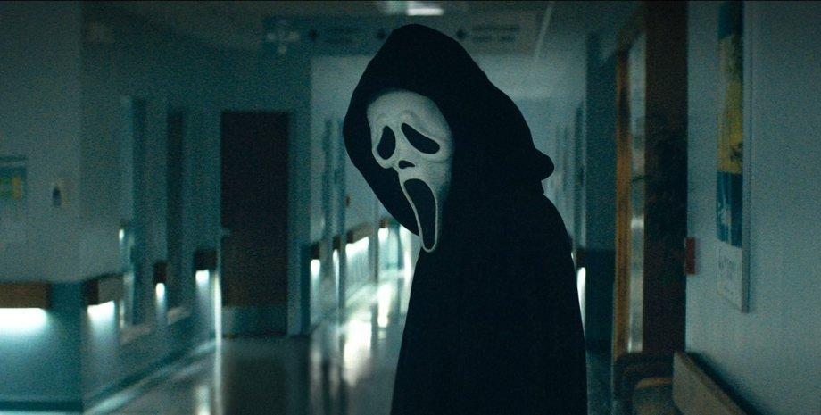 Крик, призрачное лицо
