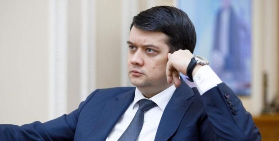 """Разумков рассказал, какой вклад внес в победу """"Слуги народа"""" на выборах"""