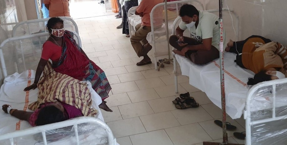 Индия, лихорадка, больница,