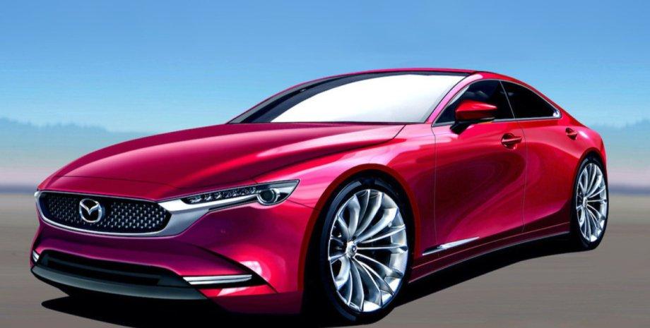 Mazda 6, нова Mazda 6, Mazda 6 2022, седан Mazda 6