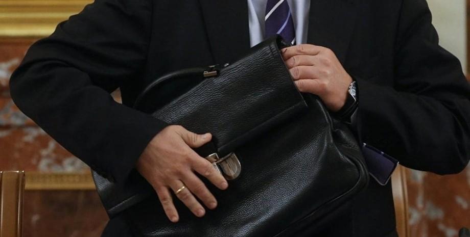 портфель, чиновник, фото