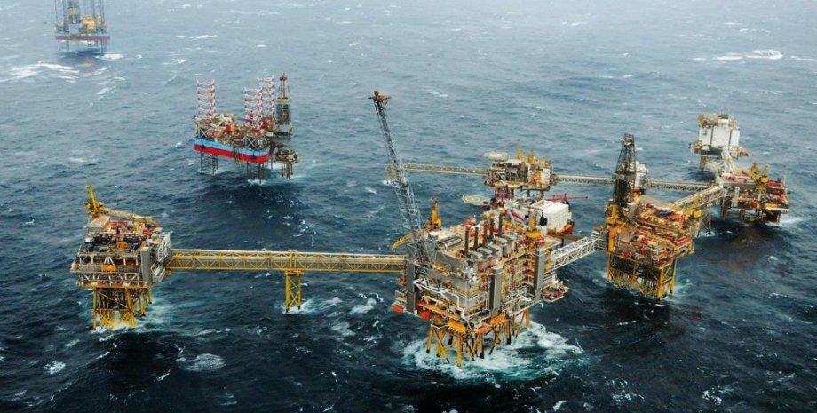 Добыча газа в море (Норвегия, Gassco) / Фото: Subseaworldnews.com