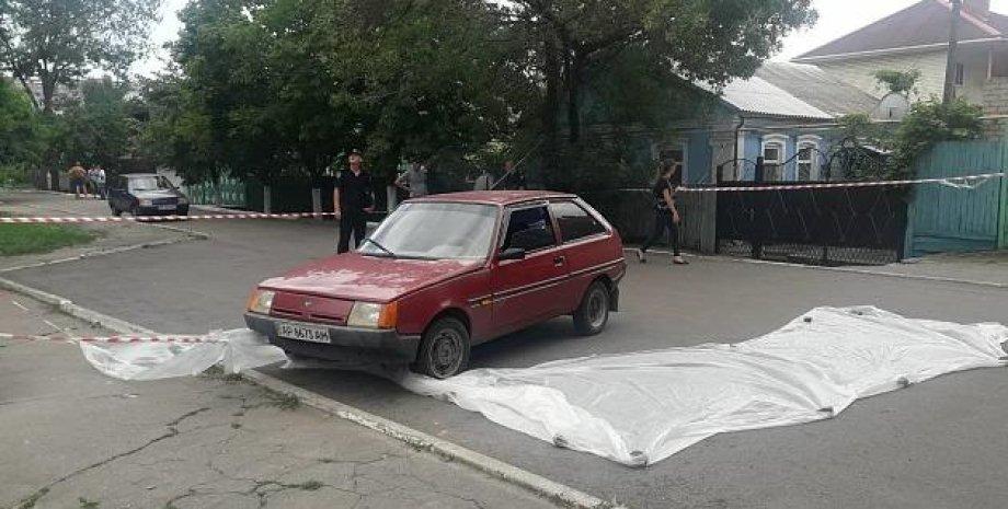 Автомобиль возможного убийцы. Фото: pro.berdyansk.biz