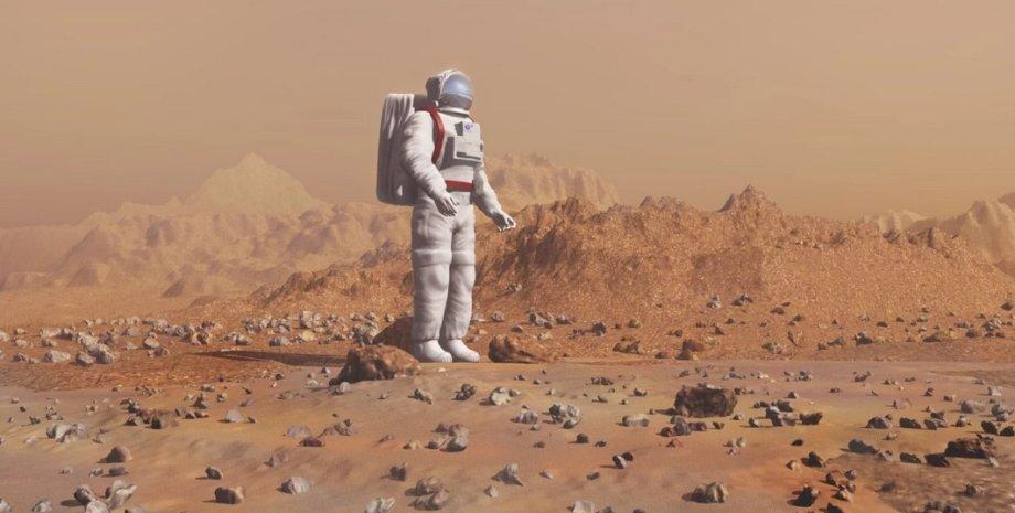 Марс, эволюция, человек, колонизация Марса