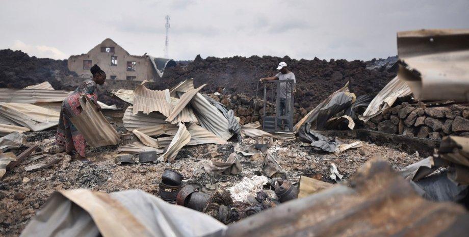 землетрусу в конго