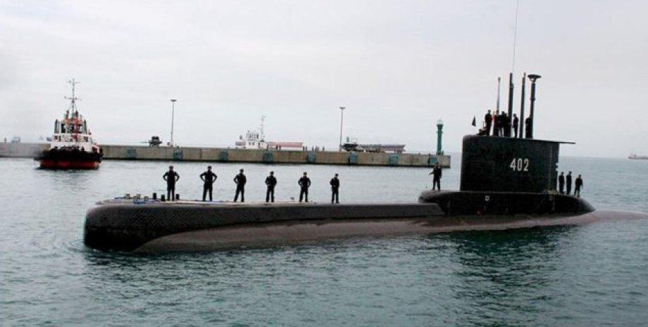 Підводний човен, ВМС Індонезії, Екіпаж, Радар, острів Балі