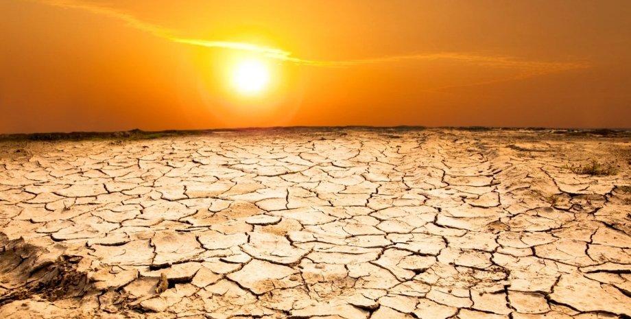 Пустеля, спека