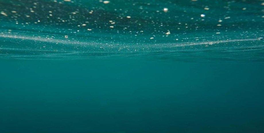 микропластик, вода, океан, фото