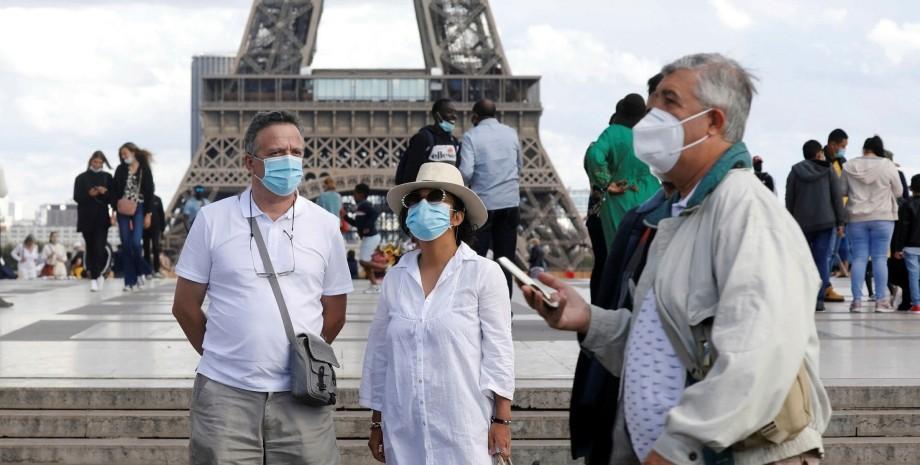 франція, париж, коронавірус, фото