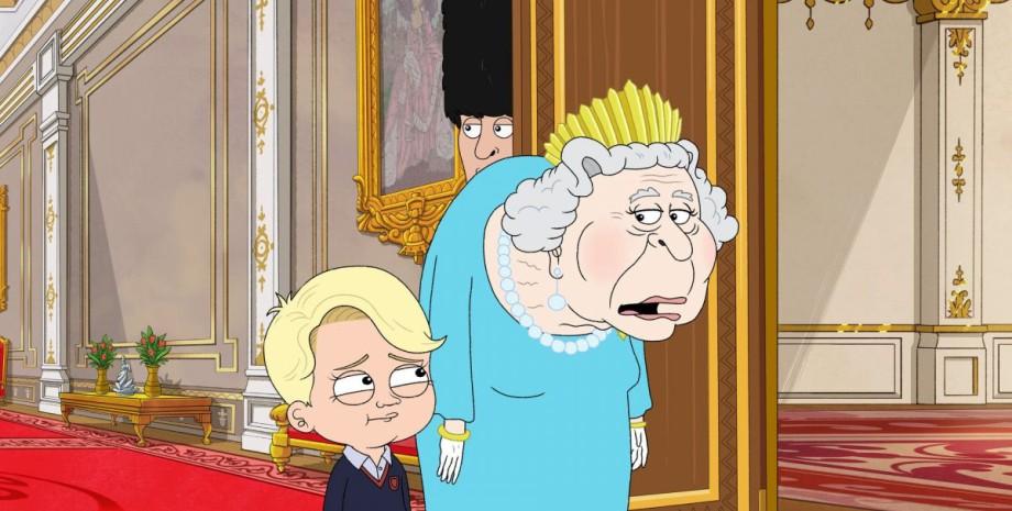 принц Джордж, мультфильм