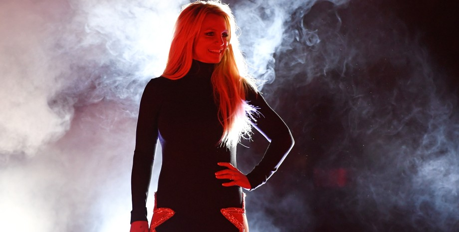 Бритни Спирс, сцена, концерт