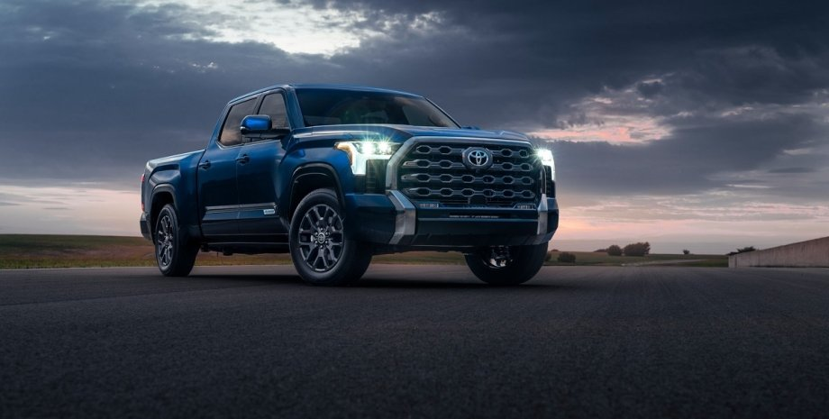 новый пикап, Toyota Tundra 2022, новый пикап Тойота, экстерьер Toyota Tundra 2022