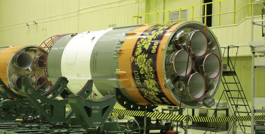 ракета-носитель,  ракета, Союз-2.1а, хохлома