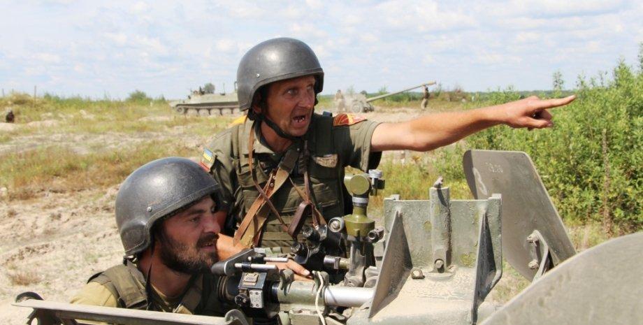 учения, стрельбы, ООС, ВСУ, Т-72, война, Россия