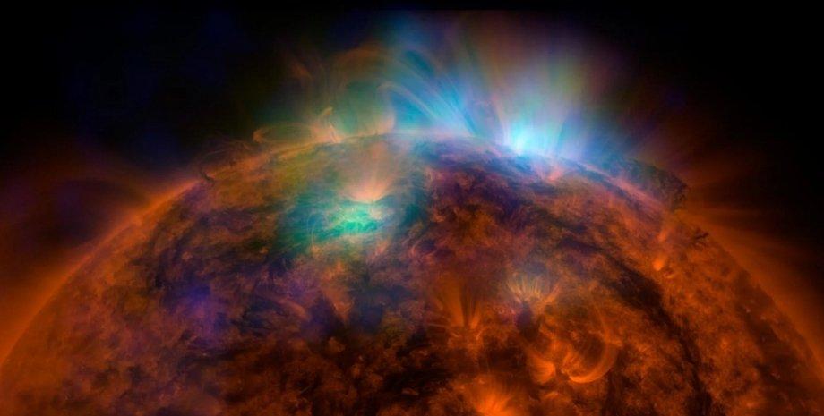 Солнце, космос, солнечные лучи