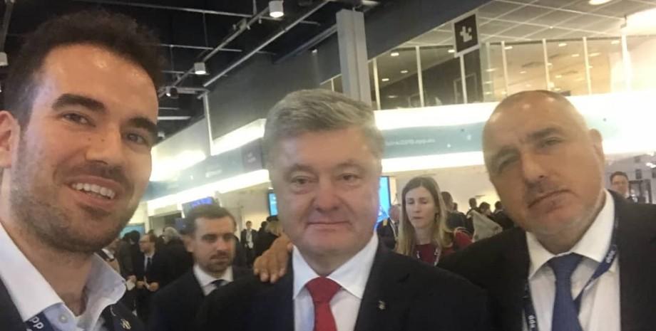 Иван Ботучаров и Петр Порошенко
