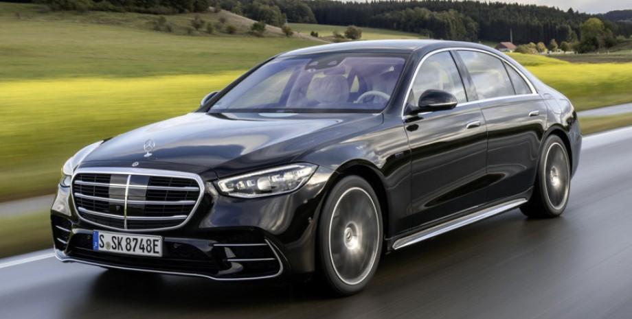 Гібридний Mercedes-Benz S-Class
