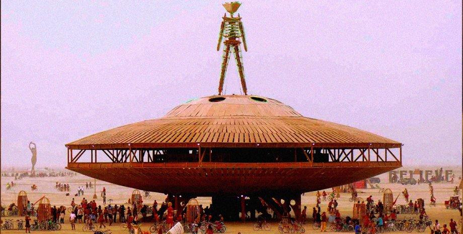 нова релігія, наркотики, Burning Man