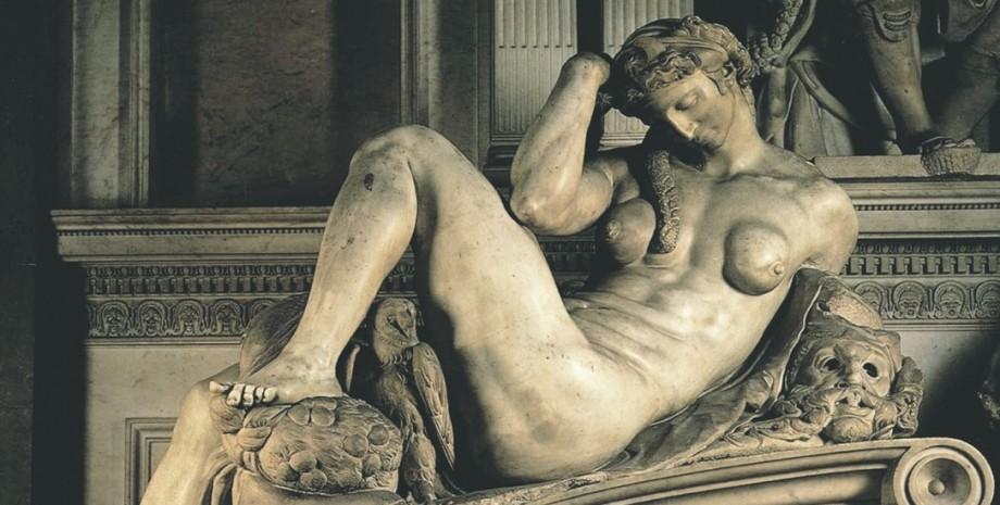 Микеланджело, скульптура, Флоренция