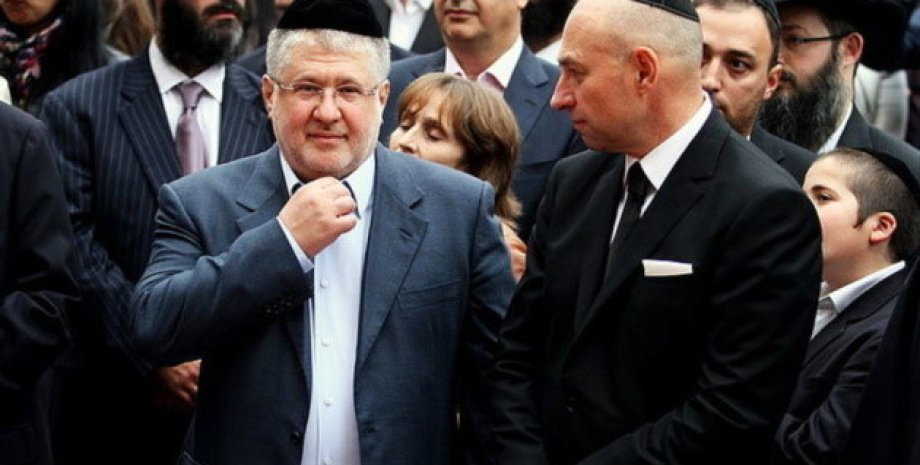 Игорь Коломойский и Геннадий Боголюбов / Фото: ukrinform.ru