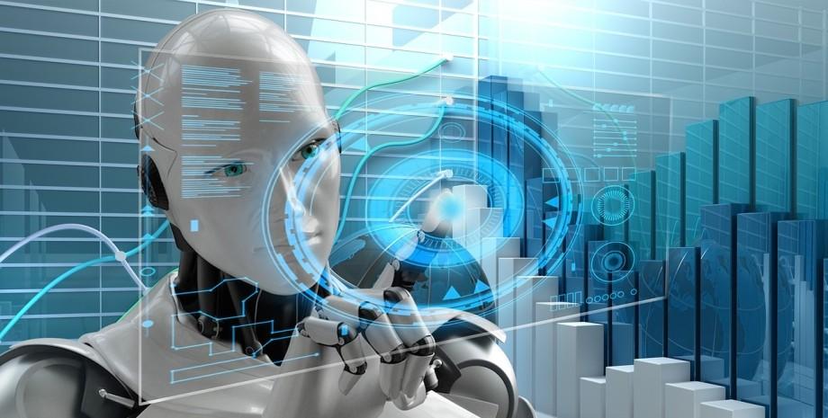 ИИ, робот, искусственный интеллект