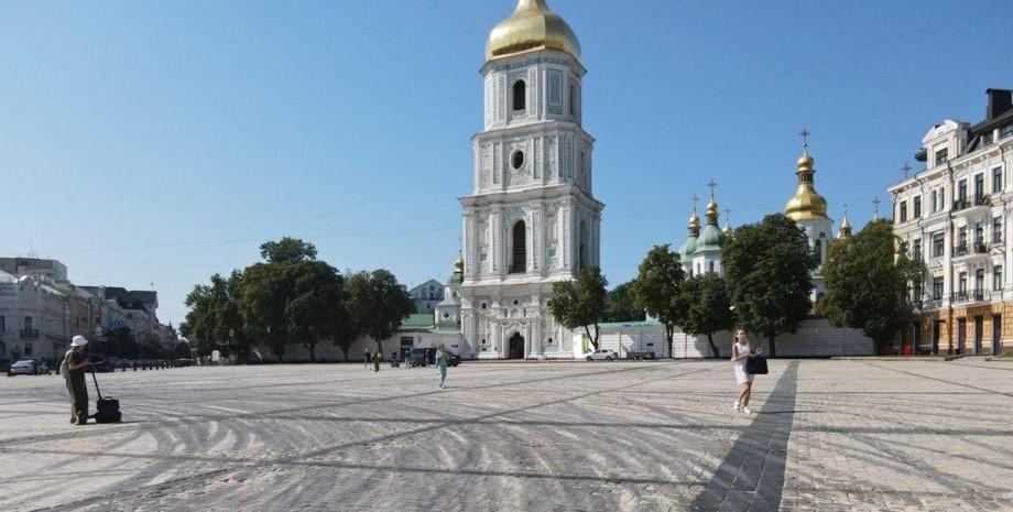 Киев, Софийская площадь, дрифт,