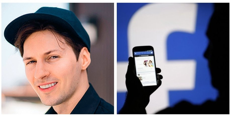 Павел Дуров, Facebook, социальная сеть, аккаунт, удаление