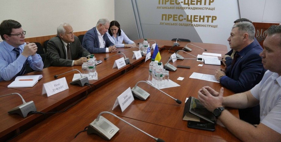 Юрий Гарбуз, Мартин Сайдик и др./Фото: loga.gov.ua