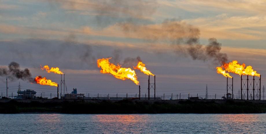 газ, месторождение газа