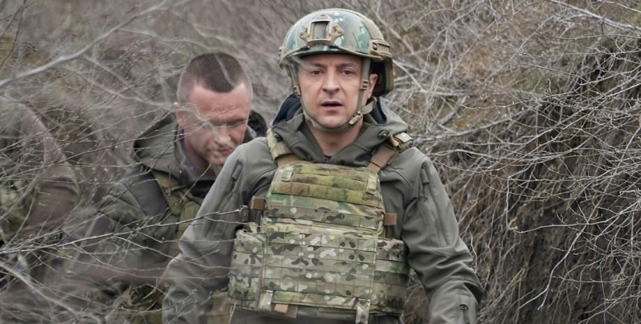 Зеленський, Донбас, ООС