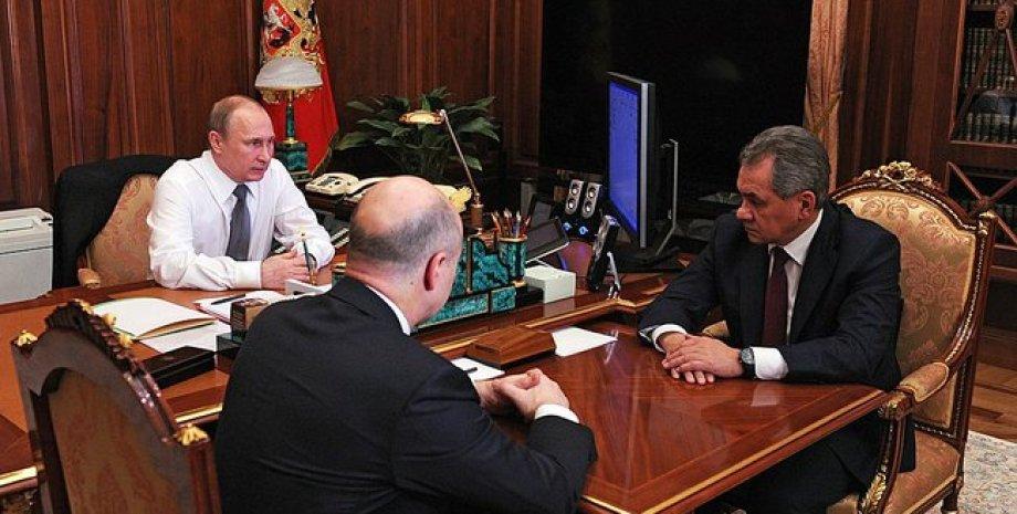 Силовики у Путина / Фото пресс-службы Кремля