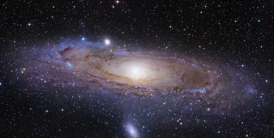 космос, Млечный Путь, звезды, галактики, фото