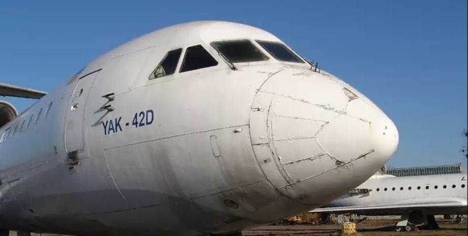 На AutoRia виставили на продаж літак Як-42Д