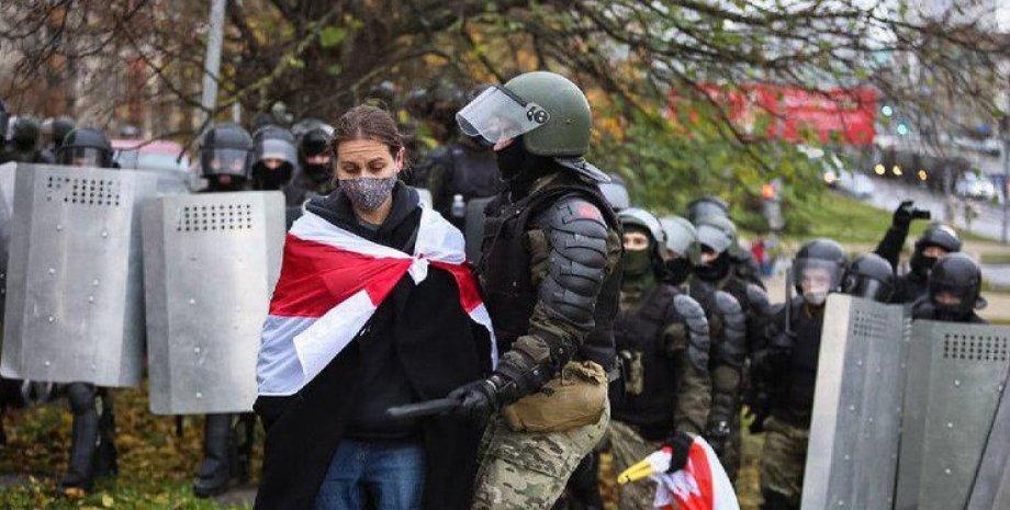 Задержание протестующих, минск, оппозиция
