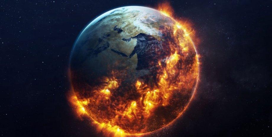 Земля, планета, обертання, земна вісь