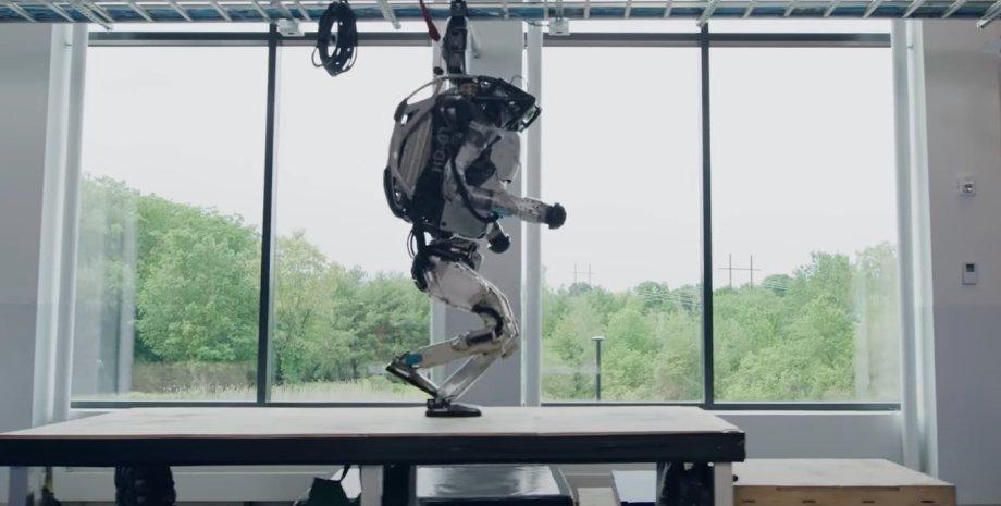 Boston Dynamics, робот,  Atlas