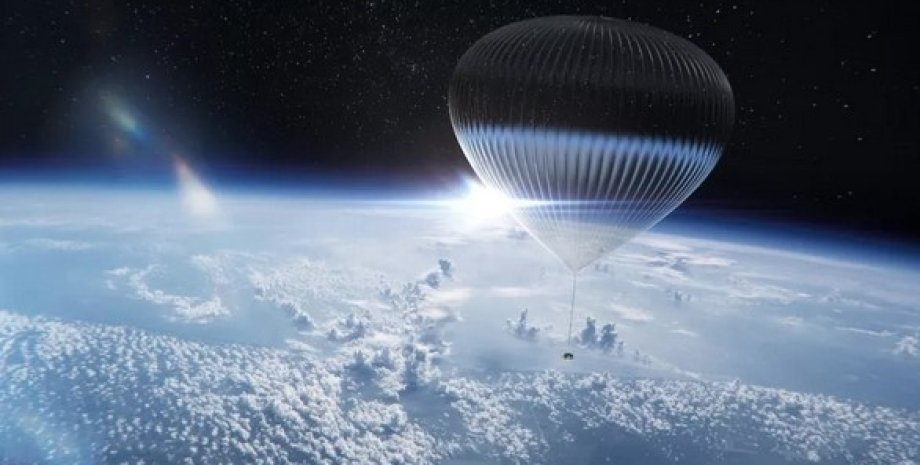 Повітряна куля, стратосфера Землі