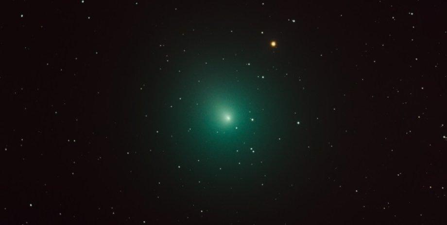 Любительский снимок кометы 46P/Виртанена 4 декабря 2018 года