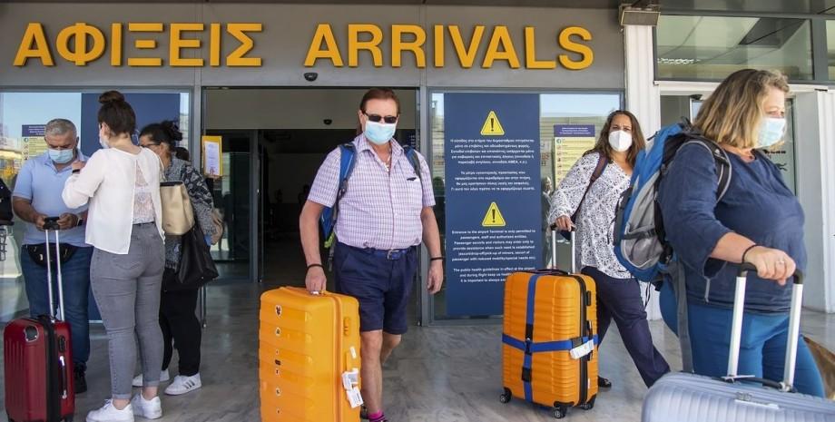 Афіни, аеропорт, туристи,