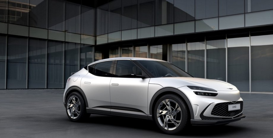 новый электромобиль от Hyundai, внешность, экстерьер Genesis GV60