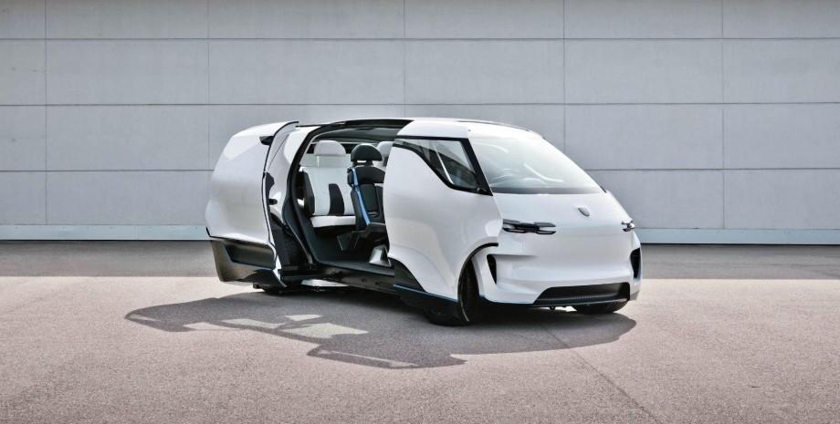 концепт Porsche Vision Renndienst