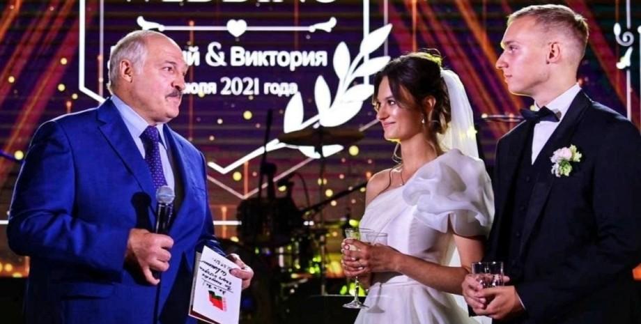 Лукашенко, внучка, весілля,