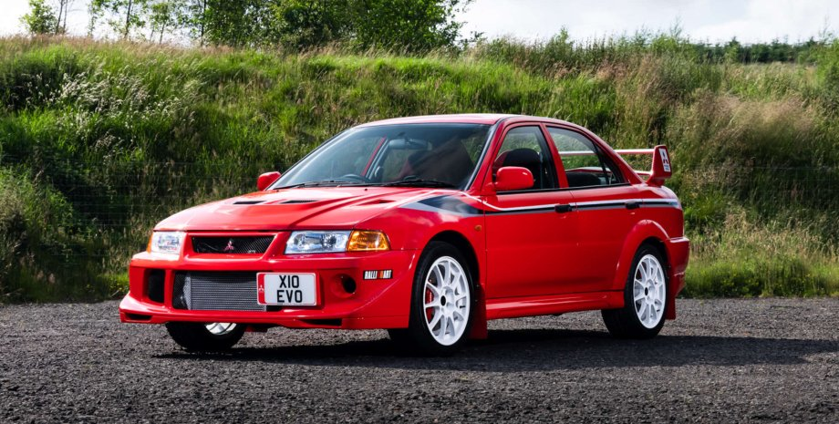 Lancer Evo VI Tommi Makinen Edition аукціон